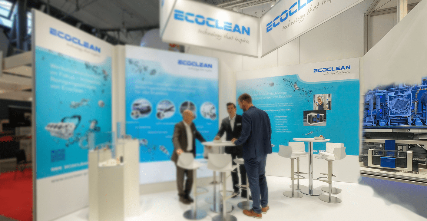 Exponat Messemodell EcoClean